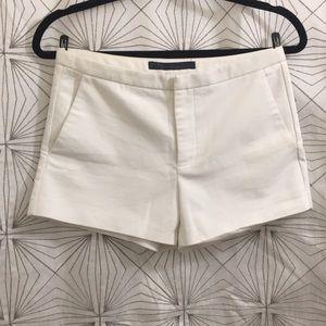Zara High-Waisted Dress Shorts